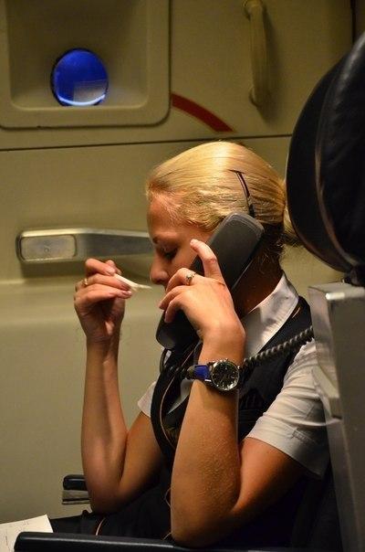 Лена Шаткова стюардесса 3