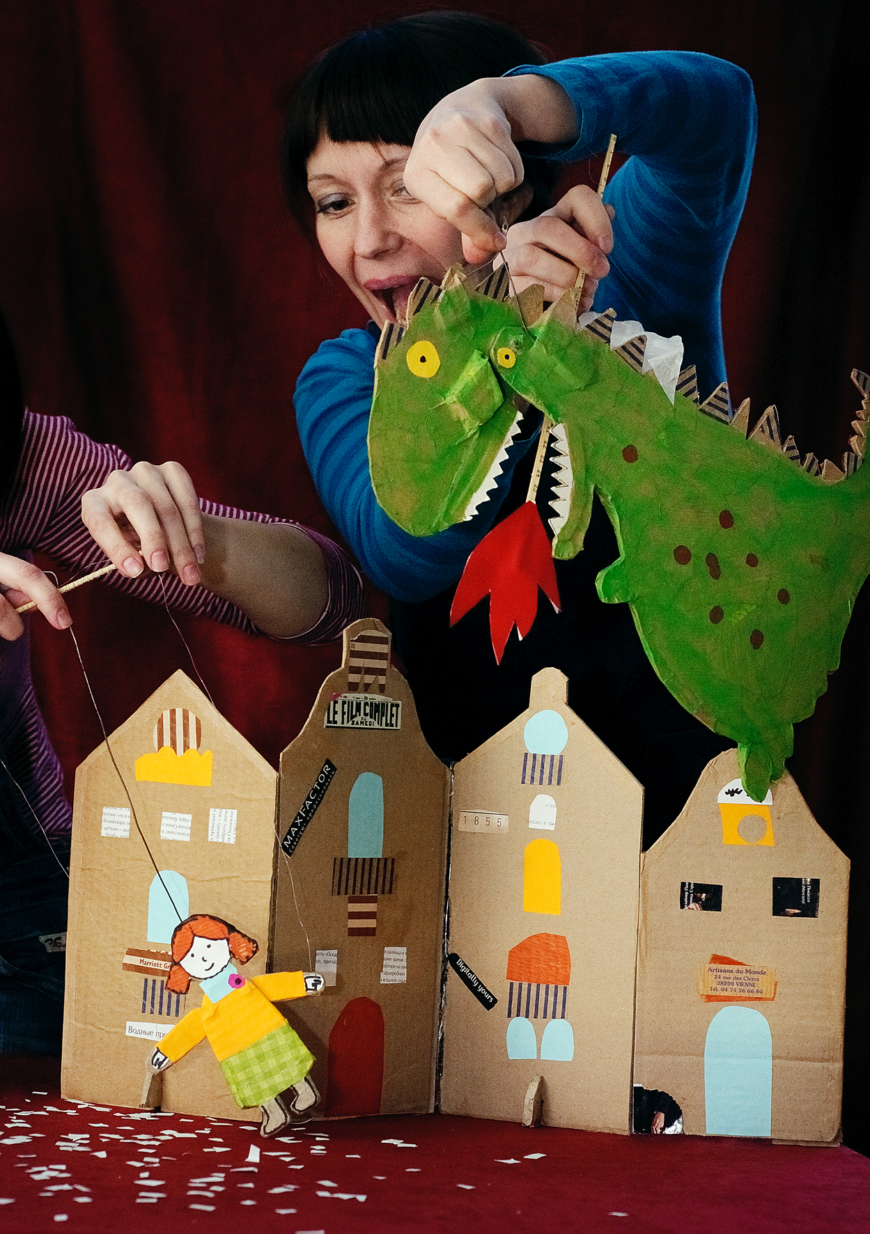 Как сделать свой кукольный театр в домашних условиях